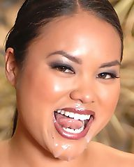 Check out this hot fucking asian babe get drilled up her tight ass and pussy in these outdoor fuck pics