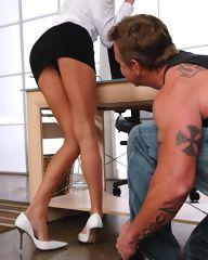 Alektra gets caught masterbating at work