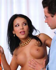 Maya and her boss fuck hardcore in the office